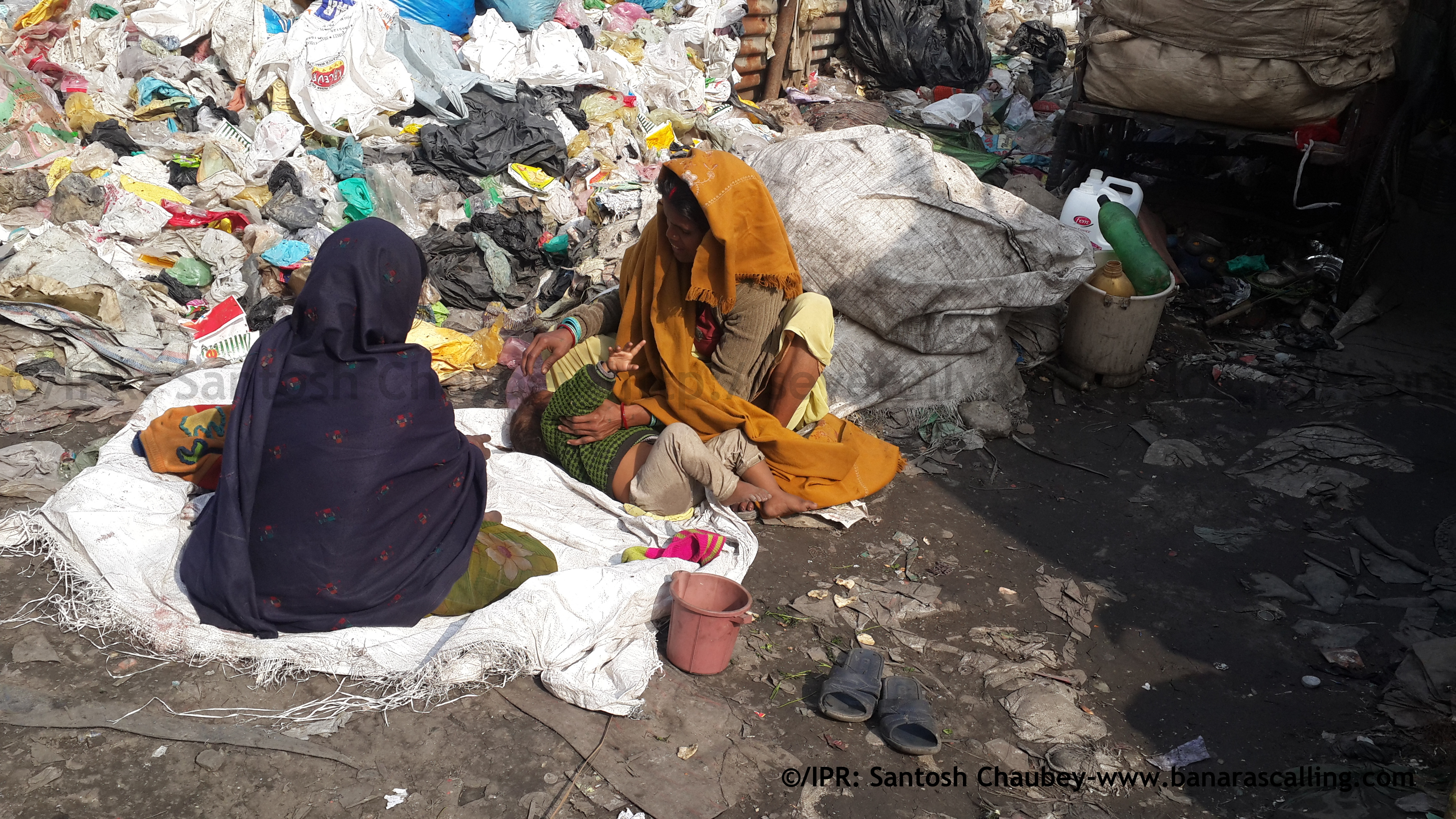 THE LIFE OF A RAGPICKER